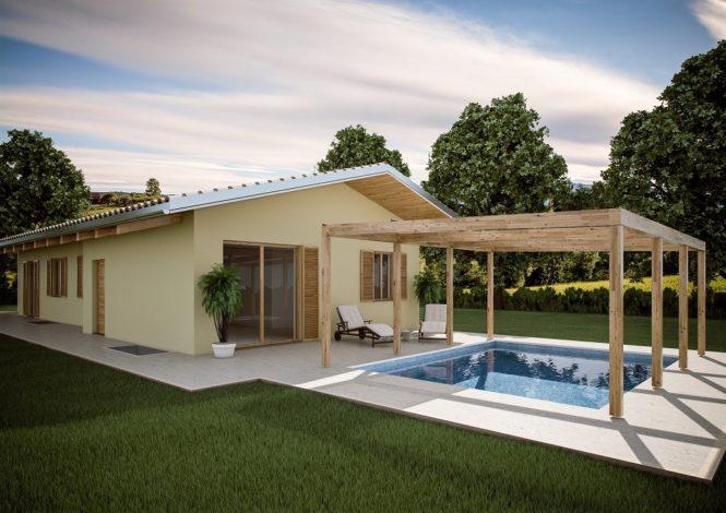 Case prefabbricate in legno e altri materiali cuorenormanno for Durata casa in legno